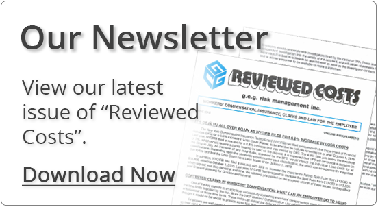 Reviewed Costs Newsletter